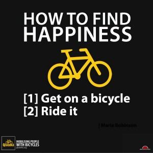 Ride to happiness