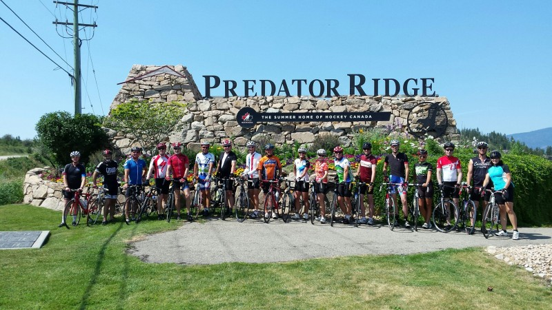 Predator Ridge Group Ride July 5-2015